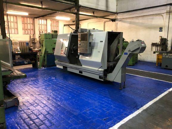 Instalación torno CNC Haas